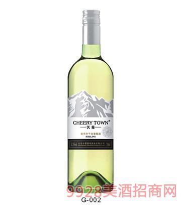 沃葡雷司 令干白葡萄酒G-002