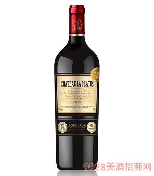 拉图菲歌柏图酒庄古堡葡萄酒14度750ml