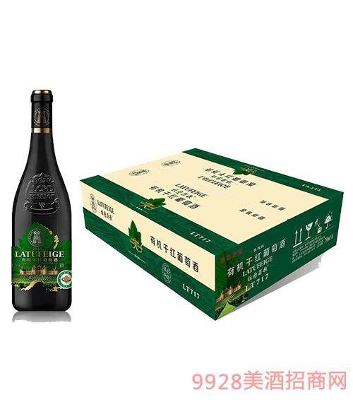 拉图菲歌优选级有机干红葡萄酒