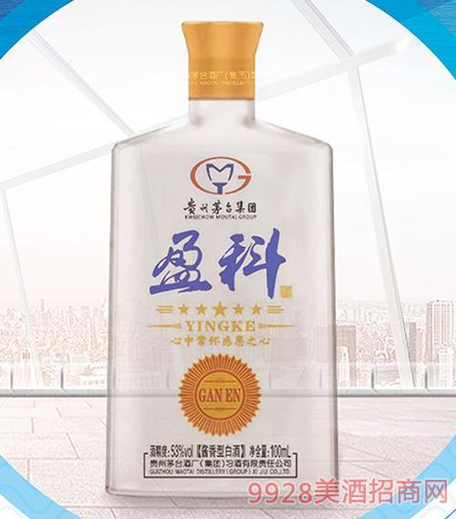 盈科小酒53度100ml