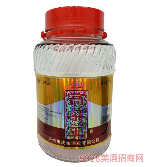 高粱王酒52度5L