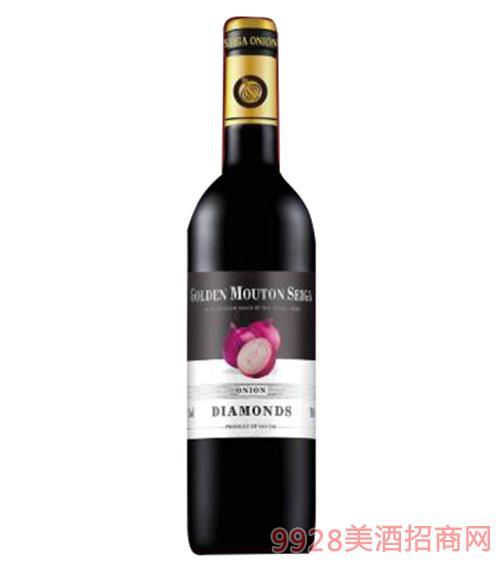 金穆桐仕佳洋葱钻石干红葡萄酒13度750ml