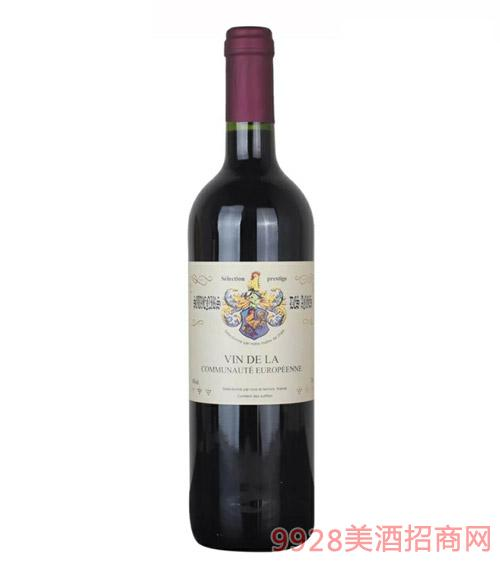 法国原瓶进口干红葡萄酒VCE等级14度750ml
