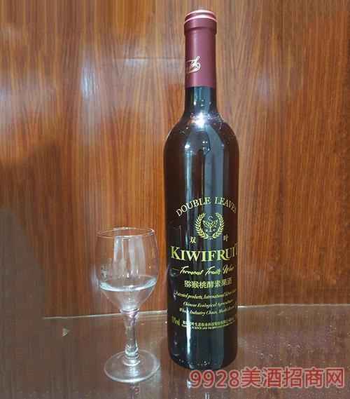 双叶·猕猴桃酵素果酒(红帽)