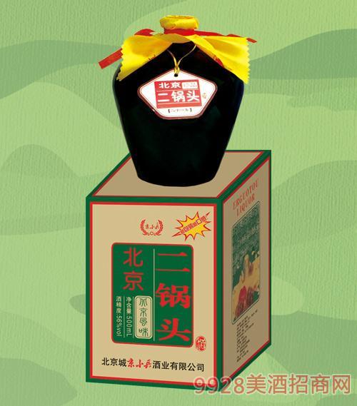 京小兵酒北京二锅头56度500mlx6