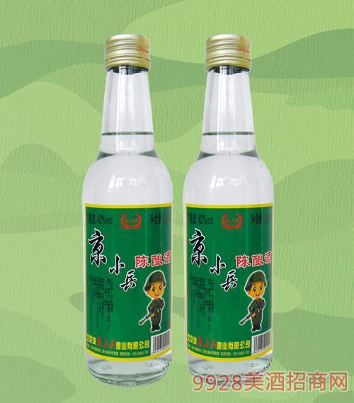 京小兵酒陈酿42度260mlx20