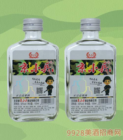 京小兵酒42度100mlx24