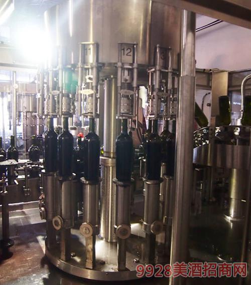 红宝石酒业厂景厂貌