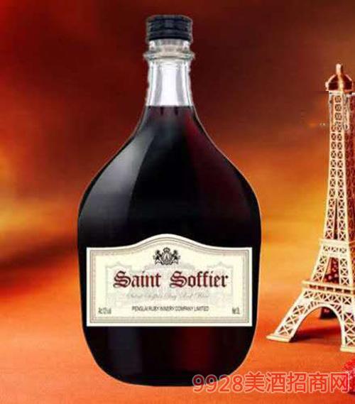 圣索菲尔庄园干红葡萄酒12度3L