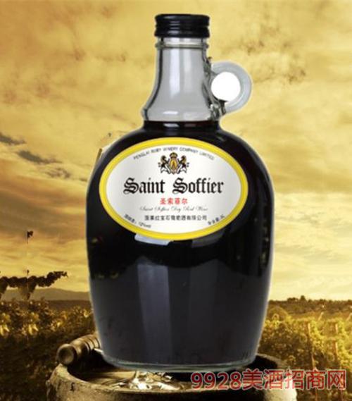 圣索菲尔干红葡萄酒12度3L