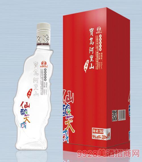 宝岛阿里山高粱酒(秘藏30)52度500mlx6浓香型白酒