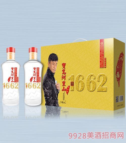 宝岛阿里山高粱酒(贵宾佳酿)52度500mlx2x5浓香型白酒