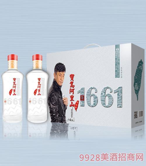 宝岛阿里山高粱酒(贵宾佳酿)42度500mlx2x5浓香型白酒