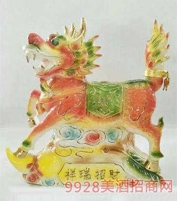 祥瑞招财坛子酒
