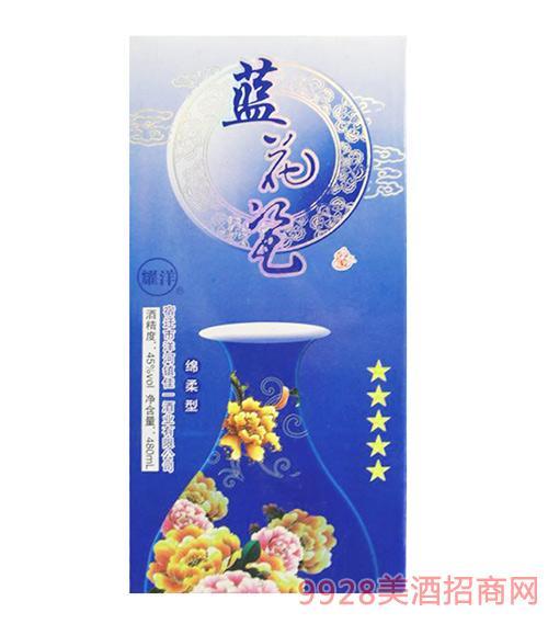 耀洋蓝花瓷酒45度480ml