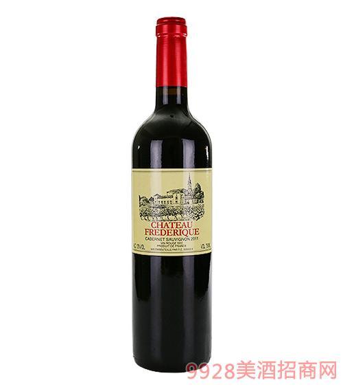 弗德里克城堡干红葡萄酒13度750ml