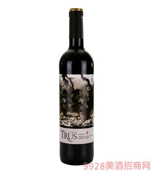 特洛干红葡萄酒13.5度750ml