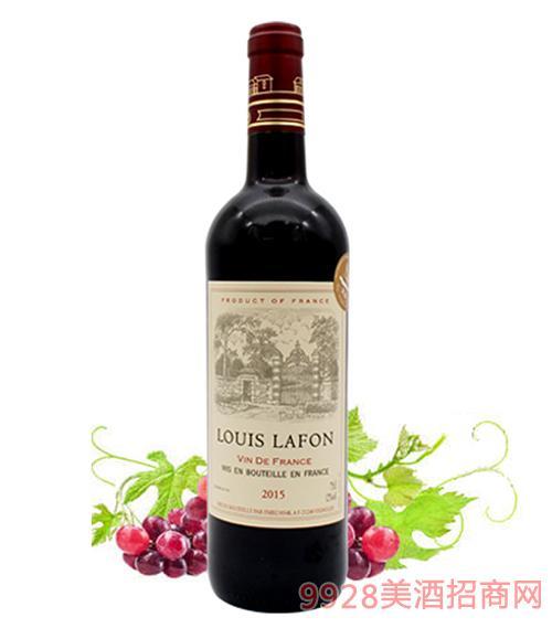 法国路易拉菲干红葡萄酒