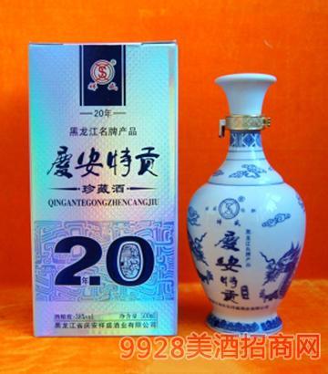 庆安特贡酒38度500mlx6