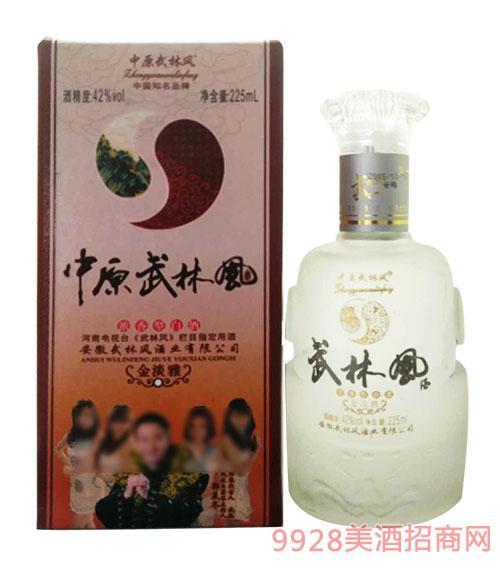 武林风酒浓香型42度225ml