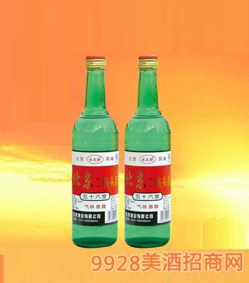 北京二鍋頭酒(大綠)56度500mlx12