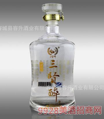 三贤醉酒金樽42度1L