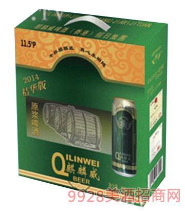 麒麟威原浆啤酒500ml