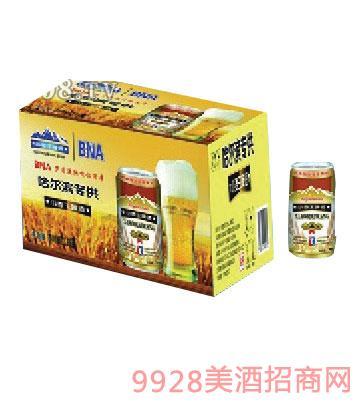 哈尔滨小麦王啤酒500ml