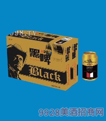 麒麟威皇 帝假日牛仔黑啤320ml