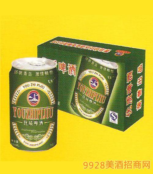 蓝特优质啤酒