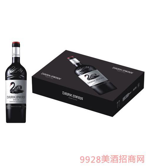 黑暗天鹅干红葡萄酒箱