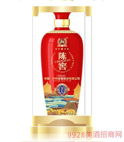 泸州老窖集团陈窖酒9V52度500ml