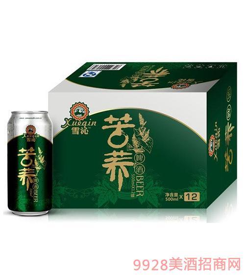 绿罐苦荞啤酒500mlx12罐