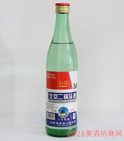 玄武门北京二锅头酒八年陈酿56度500ml