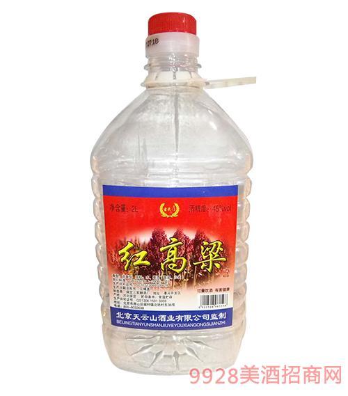 玄武门红高粱酒45度2L