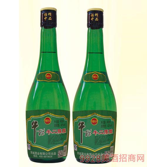 牛拦牛二陈酿酒42度475mlx12