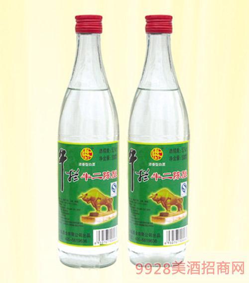牛拦牛二陈酿酒浓香型500ml