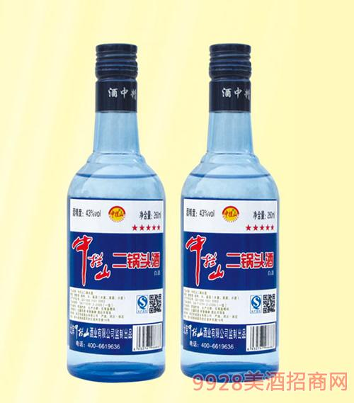中拦山二锅头酒43度250mlx20