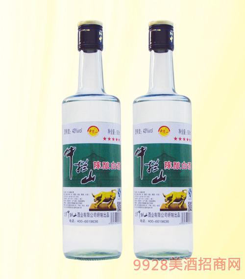 中拦山陈酿白酒浓香型43度500mlx12