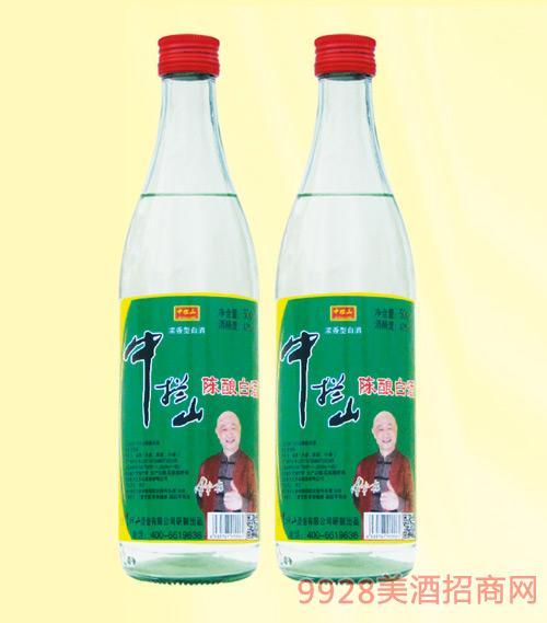 中拦山陈酿白酒浓香型42度500mlx12