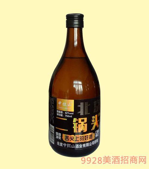 中拦山老北京二锅头酒42度750ml