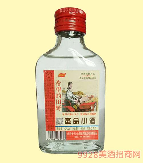 中拦山革命小酒浓香型42度100ml