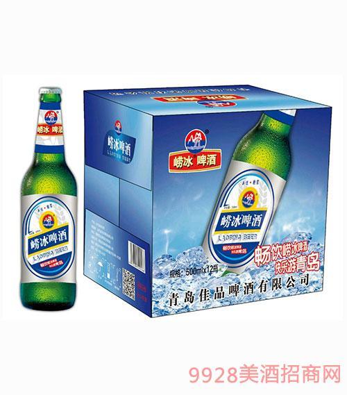 崂冰啤酒500mlx12
