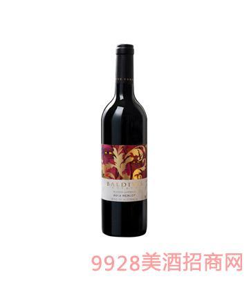 澳大利亚宝戴维斯美乐干红葡萄酒