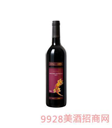 澳大利亚壁虎美乐干红葡萄酒