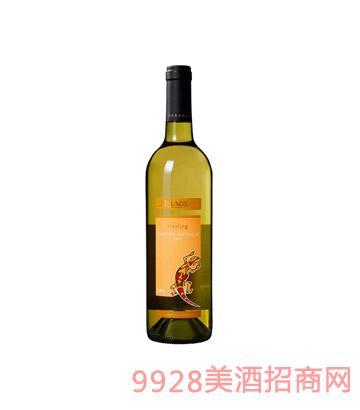 澳大利亚壁虎瑞丝琳干白葡萄酒