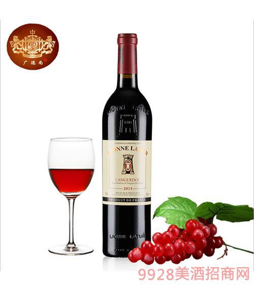 法国利布尔·拉图金标干红葡萄酒