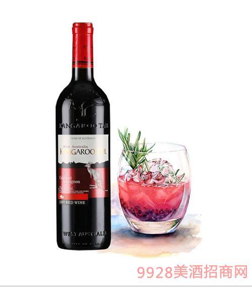 西澳长尾袋鼠干红葡萄酒
