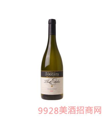 澳大利亚庄园莎当妮干白葡萄酒
