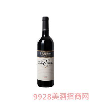 澳大利亚庄园美乐干红葡萄酒